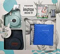 Подарочный набор Fujifilm Instax mini 9 Ice Blue (Ограниченная версия), фото 1