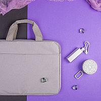 Набор подарочный CHERCHEZ LA FEMME: bluetooth-колонка, зарядное устройство, конференц-сумка, серый, Серый, -,