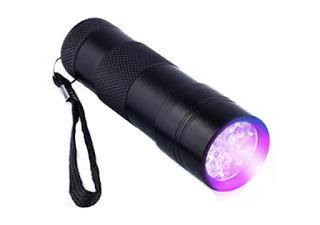 Ультрафиолетовый фонарик 12UV Led