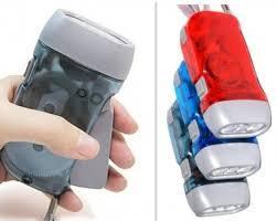Ручной механический аккумуляторный фонарь