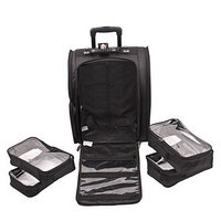 Сумка (чемодан) для визажиста, цвет чёрный LGB915