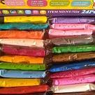 Глина полимерная детская в наборе. 24 пакетиков, инструмент., фото 4