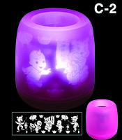 Электронная светодиодная свеча «Задуй меня» с датчиками дистанционного включения (C2 Малыши)