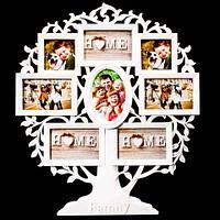 Фоторамка составная «Семейное древо» [53х60см, 8 фото] 15-505