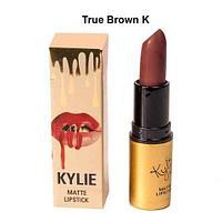 Губная матовая помада Kylie Matte Lipstick (True Brown K)