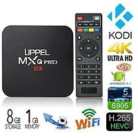 Приставка для телевизора OTT TV BOX 4K ULTRA HD MXQ-4К {Wi-Fi; Android; Quad-Core Cortex A7}