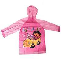 """Дождевик детский из непромокаемой ткани с капюшоном (XL / """"Дора"""")"""
