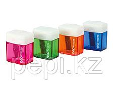 Точилка Deli  0574, пластмассовая 1 лезвия