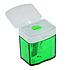 Точилка Deli  0574, пластмассовая 1 лезвия, фото 2
