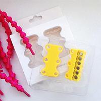 Умные магниты для шнурков Magnetic Shoelaces (Желтый / Для детей)