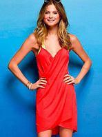 Платье-трансформер пляжное (Красный)