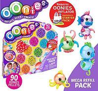 Набор дополнительных шариков для конструктора Oonies «Фабрика надувных игрушек» (Mega Refill Pack)