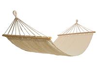 Гамак тканевый с деревянными планками [100х200 см]