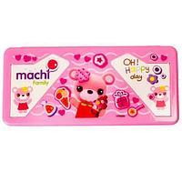 Ручка здоровья умная - корректор осанки Machi Family с пеналом-подставкой (Розовый)