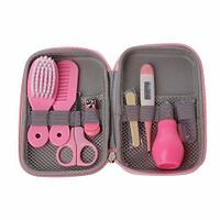 Набор для ухода за ребенком Baby Care Kit [9 предметов] (Розовый)