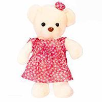 Игрушка мягкая медведица в платье «Милана»