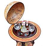 Глобус-бар DA VINCI напольный d=40 см, фото 2