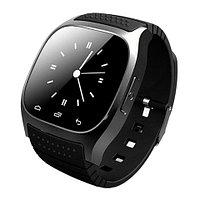 Умные часы водонепроницаемые Smart Watch M26 с сенсорным экраном, шагометром и защитой анти-вор (Черный)