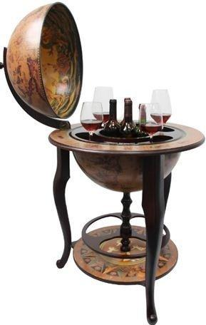 Напольный глобус-бар Brigant d=45 см, 61*61*96 см