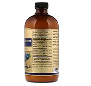 Solgar, Цитрат кальция и магния, с витамином D3, в жидкой форме, вкус натуральной черники, 473 мл (16 жидк. ун, фото 2