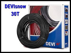 Двухжильный нагревательный кабель DEVIsnow 30T на 220В/230В - 27 м