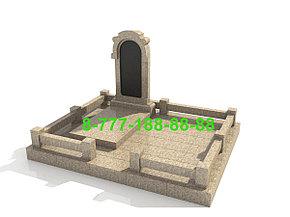 Гранитный комплекс на могилу, фото 2