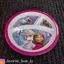 Тарелка для кормления, детская, с декором. Материал: Пластик. Цвет: Разные цвета.