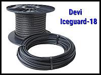 Саморегулирующийся нагревательный кабель Devi Iceguard-18 - 4м
