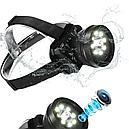 Full HD носимая на голове видеокамера с мощным LED фонарем (влагозащищенность IP65), фото 4