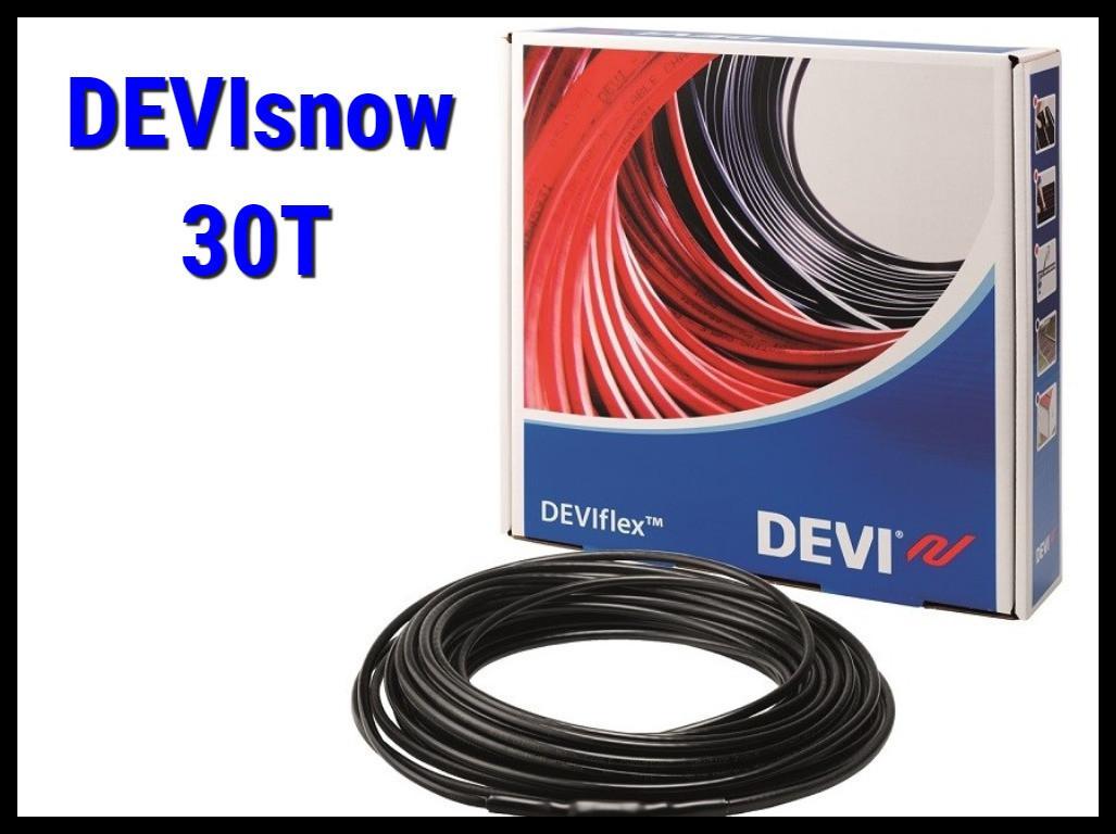 Двухжильный нагревательный кабель DEVIsnow 30T на 220В/230В - 27м