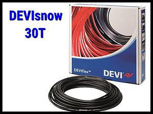 Двухжильный нагревательный кабель DEVIsnow 30T на 220В/230В - 140м
