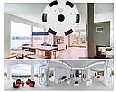 Потолочная/настенная WiFi IP видеокамера наблюдения 360 градусов с режимом 3д, фото 3
