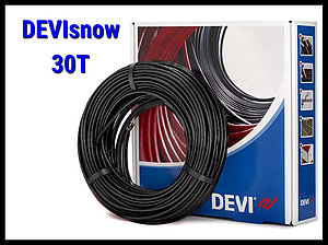 Двухжильный нагревательный кабель DEVIsnow 30T на 220В/230В - 10 м