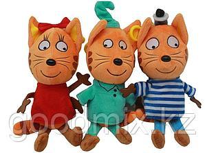 Комплект мягких игрушек Три кота (30 см)