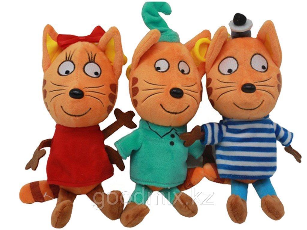 Комплект мягких игрушек Три кота (25 см)