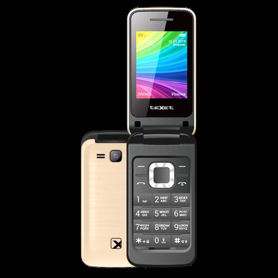 Мобильный телефон Texet TM-204 шампань
