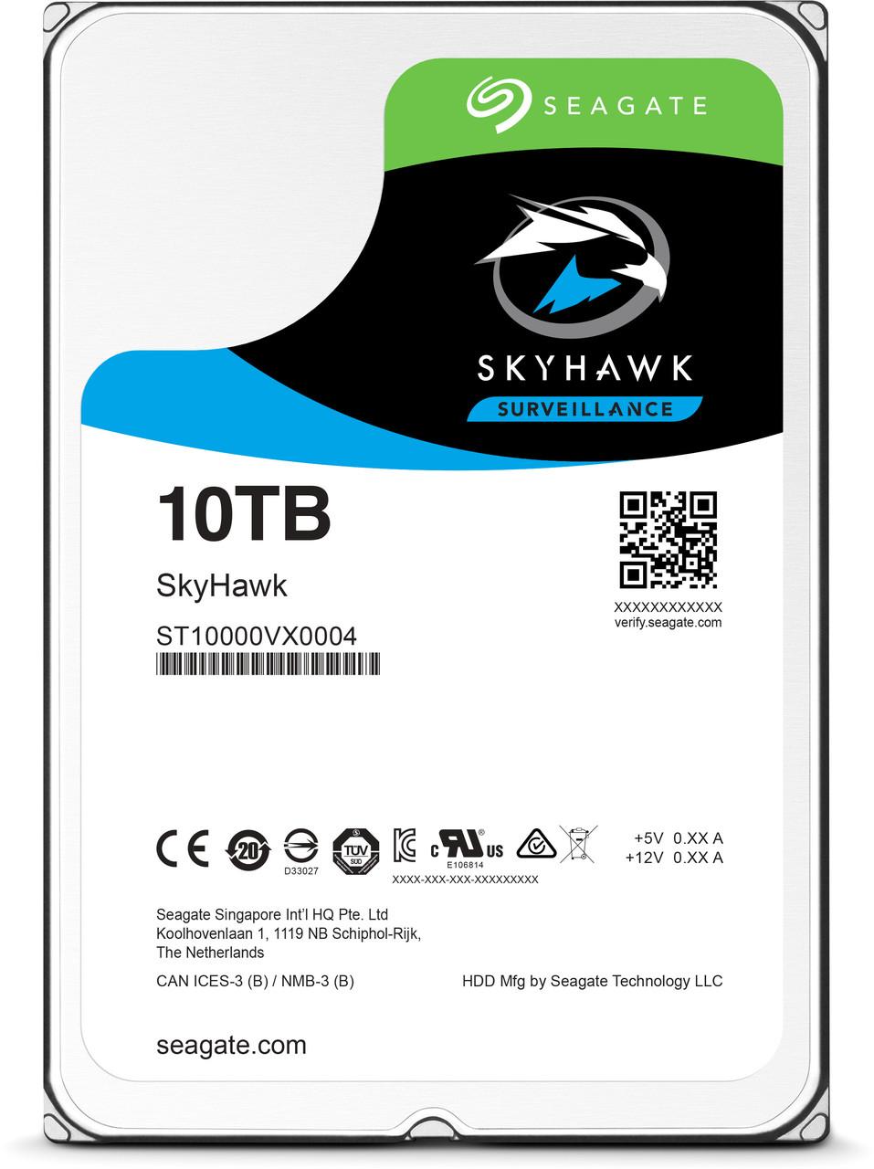 Жесткий диск HDD 8000 Gb Seagate SkyHawk AI (ST8000VE0004)