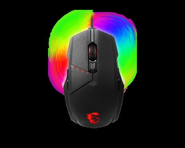 Мышь MSI Clutch GM60 Черный