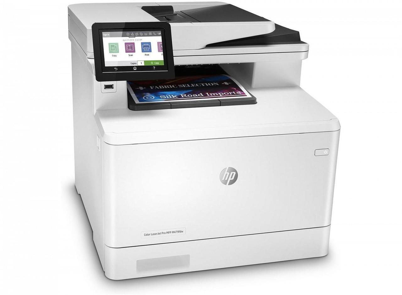 МФУ HP Color LaserJet Pro M479fdw W1A80A (А4, Лазерный, Цветной)