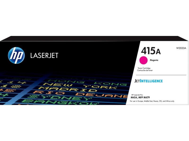 Тонер HP 415A Magenta LaserJet W2033A