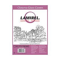 Обложки Lamirel Chromolux A4 LA-78689, картонные, глянцевые, цвет: белый, 230гм², 100шт