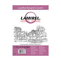 Обложки Lamirel Delta A4 LA-78770, картонные, с тиснением под кожу , цвет: зеленый, 230гм², 100шт