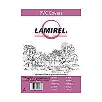 Обложки Lamirel Transparent A4  LA-78783   PVC  дымчатые  150мкм  100 шт.