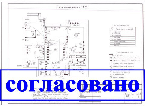 Электропроект квартиры