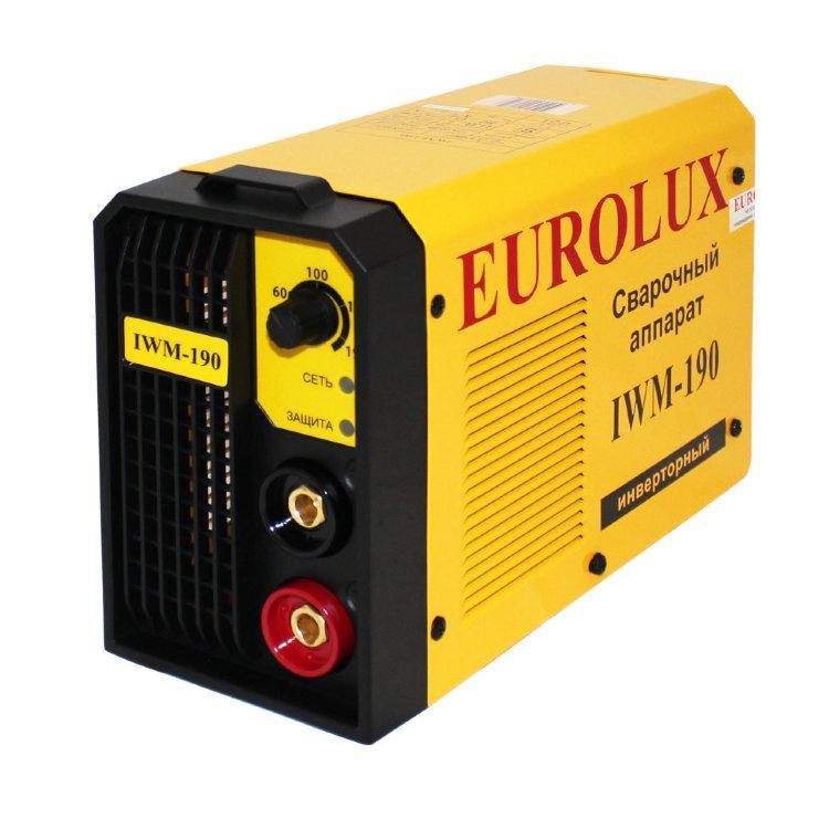 Сварочный аппарат EUROLUX IWM190 Инверторный