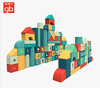Детские строительные игрушки кубики