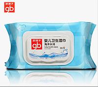 Детские гигиенические салфетки для рук 80 шт