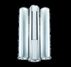 Кондиционер напольный GREE-24: I-Crown II Inverter (от –30°С до +54°С) R410A: (Без соединительной инсталляции)