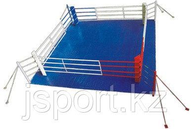 Ринг боксерский  на растяжках 7 х 7 м  (боевая зона 6м х 6м )