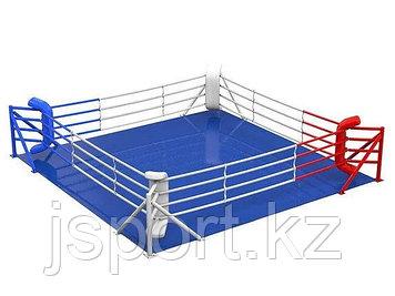 Ринг боксерский на упорах 7м х 7м (боевая зона 6м х 6м)